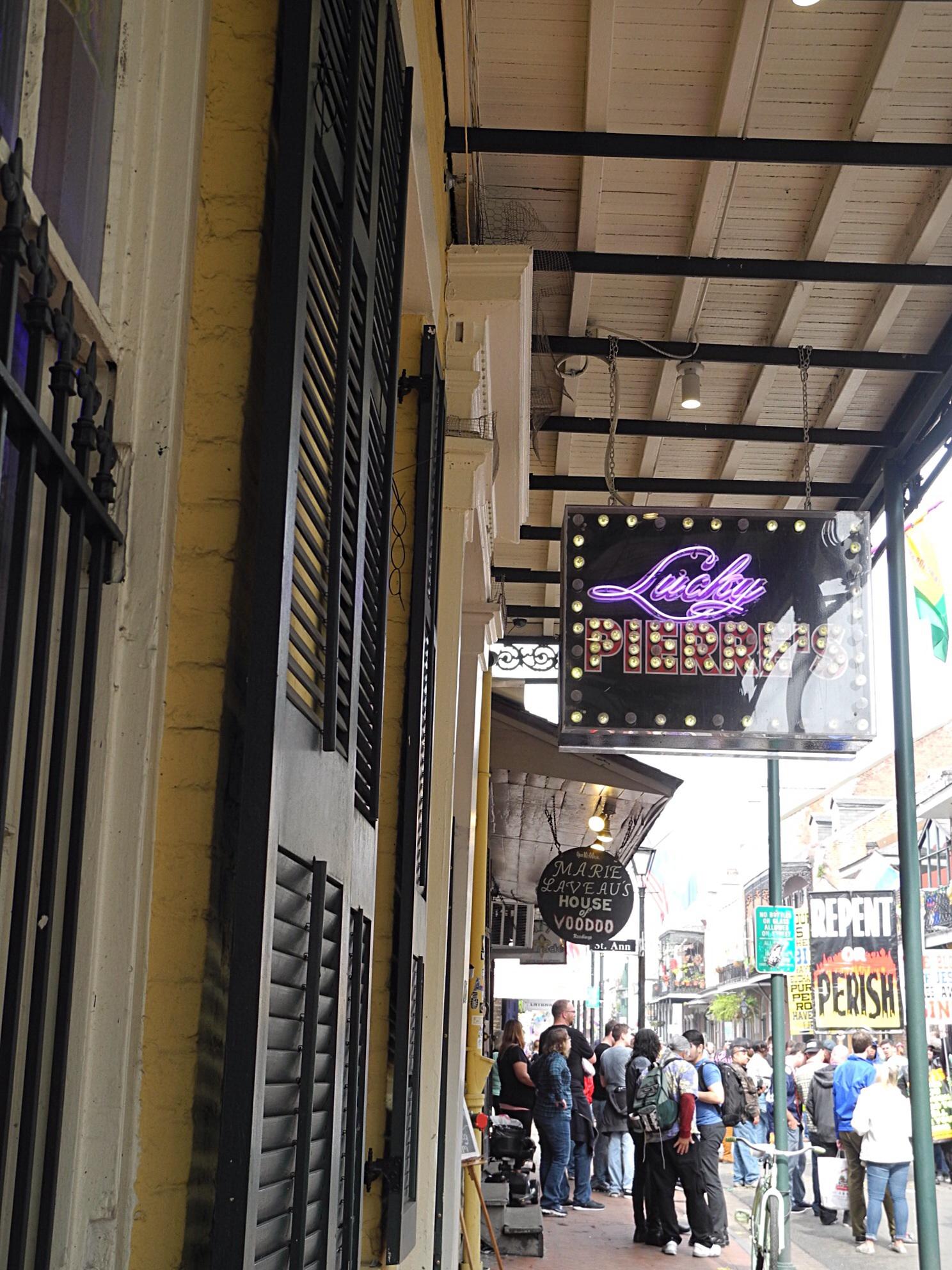 Bourbon Street Cafe Menu